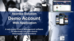 Asoriba demo accounts