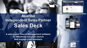 Asoriba ISPs standard sales deck